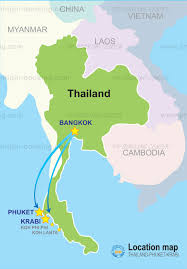 Thailand On World Map by Map Of Phuket And Surrounding Area The Places I U0027ll Go