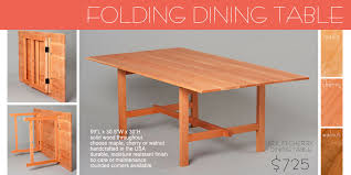 Wood Folding Dining Table Chic Wooden Folding Dining Table Wooden Folding Collapsible