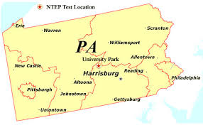 pennsylvania state map national turfgrass evaluation program data for each state