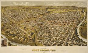 fort worth map perspective map of fort worth 1891 save history