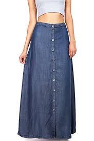 denim maxi skirt stitch women s juniors denim maxi skirt at women s