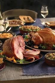 build your thanksgiving dinner with omaha steaks table