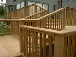 Deck Handrail Code Interesting Deck Stair Railing Thediapercake Home Trend
