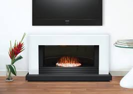 adam carrera fireplace suite in pure white 48 inch electric