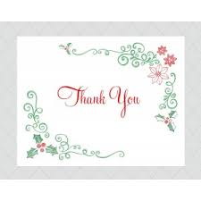 christmas thank you cards christmas thank you cards style 675 whimsicalprints