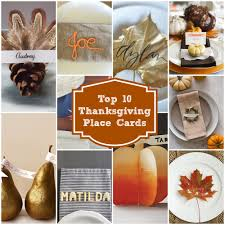 thanksgiving name card holders top 10 last minute thanksgiving place cards rainbow delicious