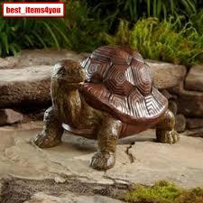 desert turtle statue outdoor garden lawn porch yard home decor big