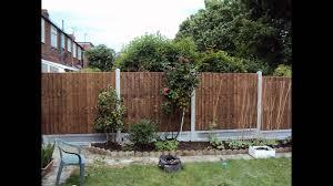 garden fence panels youtube