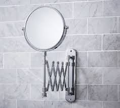 Pottery Barn Mirrors Bathroom by Accordion Mirror Pottery Barn