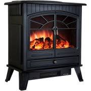 Electric Stove Fireplace with Electric Stove Heater Heating Walmart Com