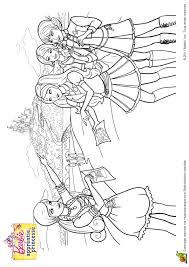 coloriage barbie apprentie princesse 21 sur hugolescargot com