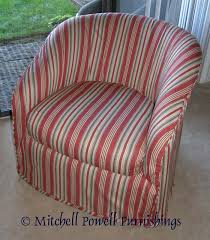 Patio Furniture Slip Covers Slipcover For Barrel Chair Chair Covers Pinterest Barrels