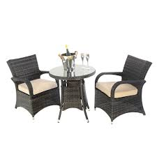 Kensington Bistro Chair Kensington Club 70cm Arizona Bistro Set Brown Outside Edge