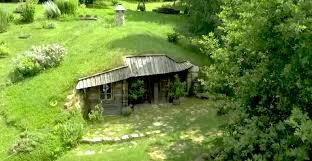 grass hill hides magical hobbit teahouse slovenia