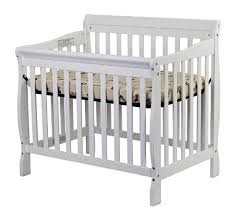 Convertible 4 In 1 Cribs On Me 4 In 1 Aden Convertible Mini Crib A Boutique