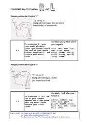 english teaching worksheets pronunciation