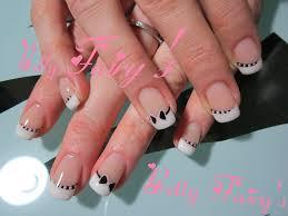 deco ongle en gel noir et blanc ongles naturel tous les messages sur ongles naturel page 128