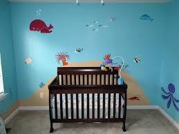 Ocean Wall Decals For Nursery by Amazon Com My Wonderful Walls Under The Sea Wall Mural Stencil