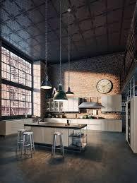cuisine style atelier industriel luminaire de cuisine et espace de vie quel est votre style