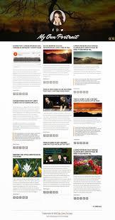 templates blogger premium 2015 my own portrait is a portfolio premium blogger template with