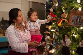 a robot themed holiday christmas around the world at museum of