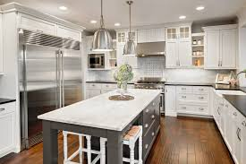 what color appliances with blue cabinets 27 kitchen cabinet colors that pop mymove