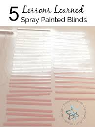 How To Paint Wood Blinds Spray Paint Blinds Part 46 How To Fix Broken Slats On Vinyl