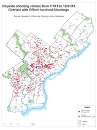 Nyc Crime Map Officer Involved Shootings Philadelphia Police Department