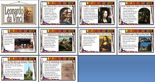 leonardo da vinci biography for elementary students printable art resource for elementary and primary schools famous