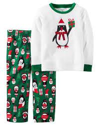 sweater pajamas 2 fleece pjs carters com