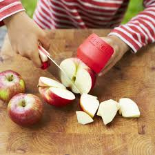my first chef knife real kitchen knife for children from opinel