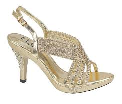 prom accessories uk gold party diamante evening wedding bridal prom sandals
