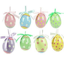 Easter Decorations For The Home Uk by Easter Decorations Set Of Eight Easter Egg Decorations Amazon