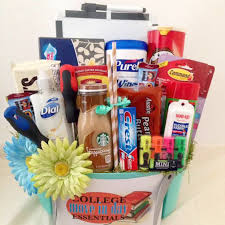 college gift baskets college bound the frederick basket company