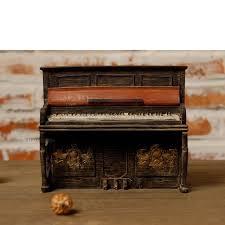 ec daily western style rustic antique vintage piano model window