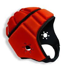 Red Flag Football Elitetek Soft Padded Helmet Headgear Protection 7 On 7