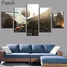 online shop 5pcs cuadros decoracion modern home decor rise of the