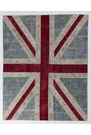 Purple Union Jack Rug Handmade Patchwork Rugs