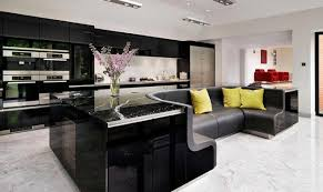 beautiful kitchen island beautiful kitchen island with built in sofa