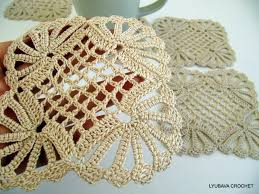 Crochet Patterns For Home Decor Crochet Coaster Pattern Shabby Chic Decor Diy Coasters Crochet