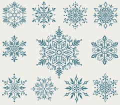 set of snowflake backgrounds for christmas vector 05 vector