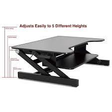 Adjustable Sitting Standing Desk by Desk Riser Standing Decorative Desk Decoration