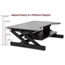 Ergonomic Sit Stand Desk by Desk Riser Standing Decorative Desk Decoration