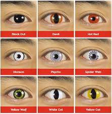 halloween contacts by pure colors hd contact lenses