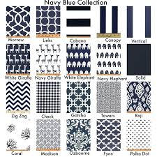 White And Navy Curtains Navy Blue Curtains Blackout Room Darkening Curtains Window Panel