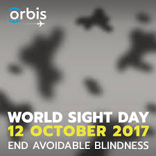 World Blindness Day Awareness Campaign Isupportcause World Sight Day 2017