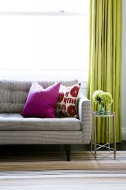 Lime Green Sheer Curtains Best 25 Lime Green Curtains Ideas On Pinterest Green Office