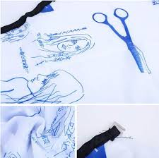 hair dressing personalities blue personality hairdressing hair cutting salon hairstylist nylon