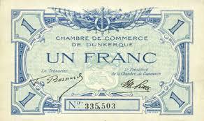 numero de chambre de commerce banknotes emergency notes dunkerque 59 chambre de commerce