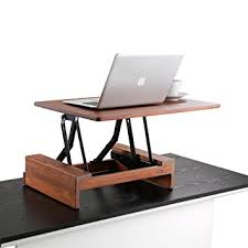 Stand Up Desk Height Amazon Com Comix Standing Desk Height Adjustable Desk Converter